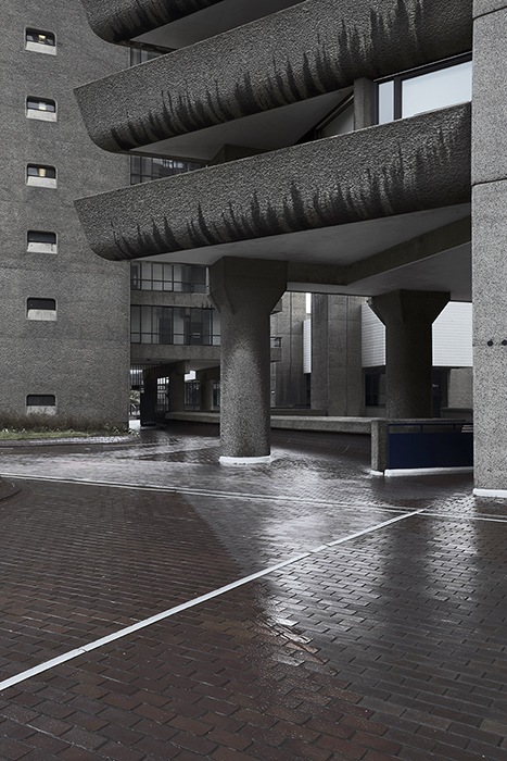 Thierry Sauvage: Thierry Sauvage photographer, Chamberlin, Powell and Bon, Architects,  Barbican Estate, London