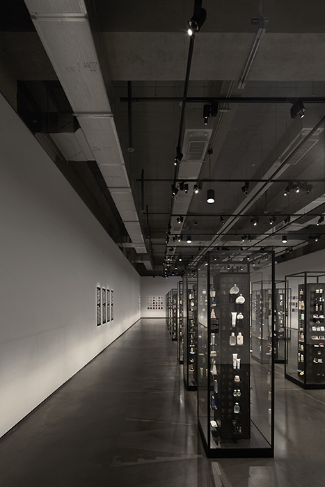Thierry Sauvage: thierry sauvage photographer SNP Architects & Partners, Amore Pacific Archive, Seoul South Korea