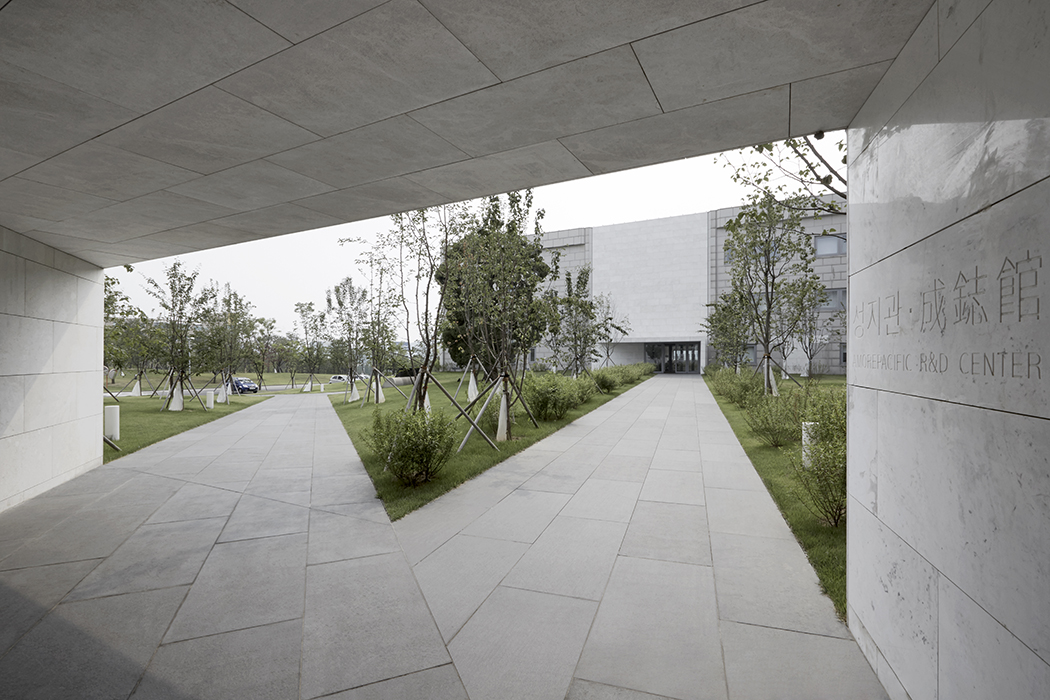 Thierry Sauvage: thierry sauvage photographer Maru, metropolitan architecture research unit, Sung Ji Kwan building, Amore Pacific, South Korea seoul