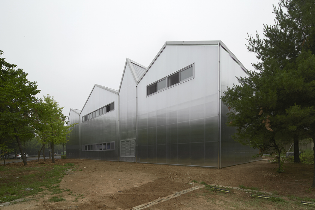 Thierry Sauvage: thierry sauvage photographer, Chae-Pereira architects, Gwangmyeong Upcycle Art Center, Seoul, South Korea